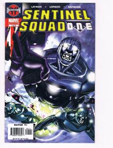 Sentinel Squad One # 1 NM Marvel Comic Book Limited Series Master Mold X-Men S80