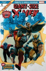 Giant Size X-Men #1 FACSIMILE EDITION & ULTIMATE COMICS X-MEN #1 POLY BAGGED.