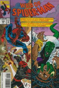 Web of Spider-Man, The #109 VF/NM; Marvel | save on shipping - details inside