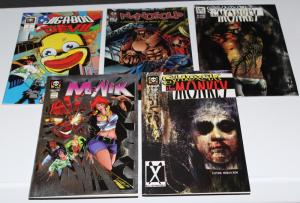 Lot of 5 Different Millennium Comics Maik, Shock Monkey Nanosoup ~VF/NM (HX205)