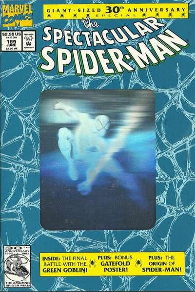 Spectacular Spider-Man (1976 series) #189, NM (Stock photo)