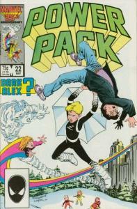 Power Pack (1984 series) #22, VF+ (Stock photo)