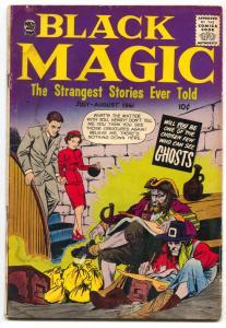 Black Magic Vol 8 #3 1961-EC STORY SWIPE-PIRATES-GHOST- G
