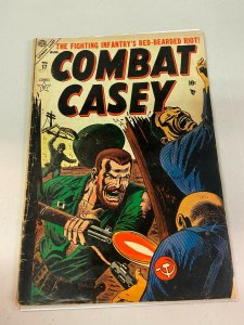 Combat Casey 17 GD/GD+  Russ Heath Cover