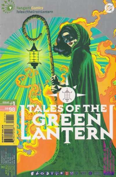Tangent Comics Tales of the Green Lantern #1, NM- (Stock photo)