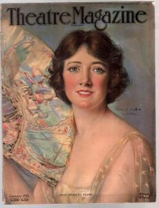 Theatre 1/1921-Frances Starr-Charle S. Gilpin-Mazimova-Russian Dancers-VG