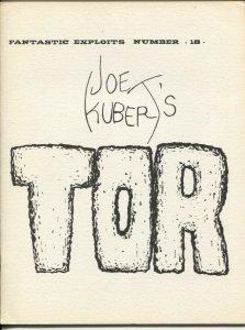 Fantastic Exploits #18 1970-SFCA-Tor by Joe Kubert-FN