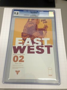 East of West 2 1st print CGC 9.8 In Development by Amazon