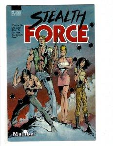 Stealth Force #1 (1987) J608