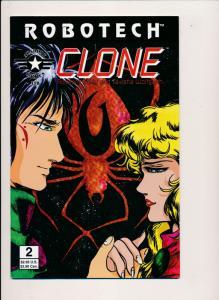 ROBOTECH CLONE #2 - Academy Comics Ltd. 1995 ~ VF  (PF276)