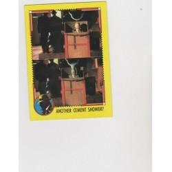 1990 Topps DICK TRACY-ANOTHER CEMENT SHOWER? #71