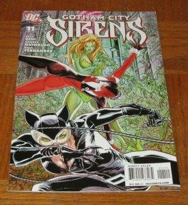 Gotham City Sirens #11 NM+/NM/MT 9.6~9.8 Comic Harley Quinn Catwoman Poison Ivy