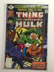 Marvel Two-In-One 46 Very Good/Very Fine Vg/Vf 5.0 Water Damage