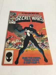 Marvel Super Heroes Secret Wars 8 Fine/Very Fine 7.0 Origin Of Black Costume