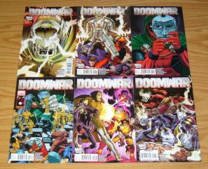 Doomwar #1-6 VF/NM complete series DEADPOOL doctor doom BLACK PANTHER