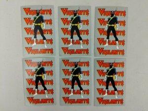 Vigilante Postcards 6x DC Promo 1983 Keith Pollard
