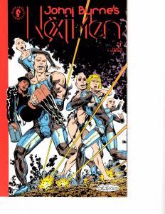 Lot Of 7 Next Men Dark Horse Comic Books #1 2 3 4 5 6 7  J69