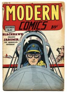 Modern Comics  #92 1949-BLACKHAWK-Torchy- Golden Age-  VG+
