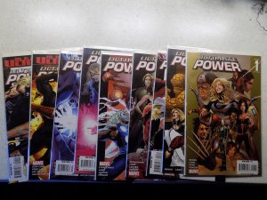 ULTIMATE POWER # 1-9 MARVEL FANTASTIC FOUR COMPLETE VF/NM READ AD