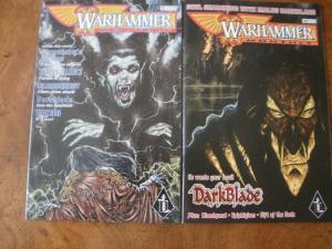 2 WARHAMMER MONTHLY Comic Book #3 #19 Bloodquest Darkblade Titan Gift of the God