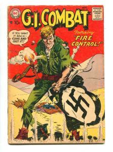 G.I. COMBAT #54 1967-DC-RUSS HEATH-JOE KUBERT-VG-