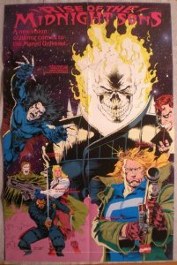 MIDNIGHT SONS Promo poster,Ghost Rider, 22x34, Unused, more Promos in store