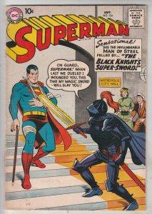 Superman #124 (Sep-58) FN+ Mid-High-Grade Superman, Jimmy Olsen,Lois Lane, La...