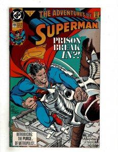 Adventures of Superman #486 (1992) YY7