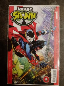 SPAWN #1 DIRECTOR'S CUT TODD MCFARLANE COVER