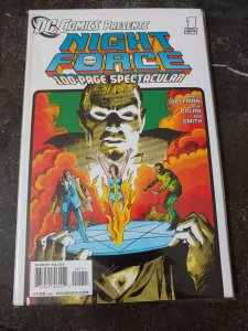 DC COMICS PRESENTS NIGHT FORCE #1 ONE-SHOT 100 PAGE SPECTACULAR NM