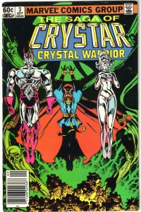 Saga of Crystar, Crystal Warrior   # 3 GD/VG