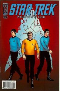 Star Trek: Mission's End #1B VF; IDW | save on shipping - details inside