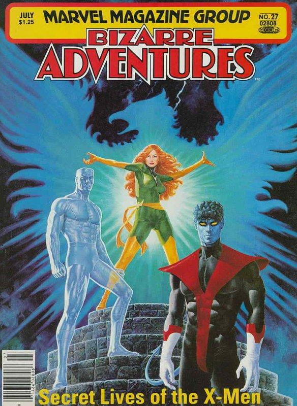 Bizarre Adventures #27 FN; Marvel | save on shipping - details inside