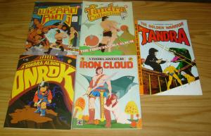 Tandra #13-31 FN/VF/NM complete series - hanther - underground comix 1976-1993