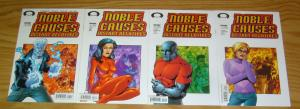 Noble Causes: Distant Relatives #1-4 VF/NM complete series - jay faerber 2 3 set