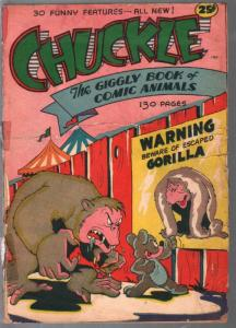 Chuckle 1945-130 pages of funny animals-Hitler-Frankenstein-G