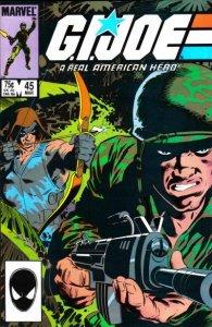 G.I. JOE #45 Marvel Comics (ungraded) stock photo / ID#B-4