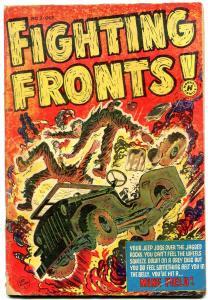 FIGHTING FRONTS! #3 EXTREME VIOLENCE LEE ELIAS CVR 1952 G