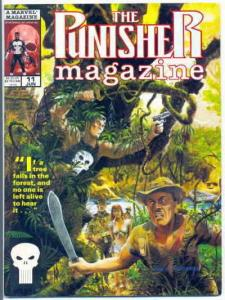 Punisher Magazine, The #11 VF/NM; Marvel | save on shipping - details inside