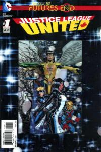 Justice League United: Futures End #1, NM (Stock photo)