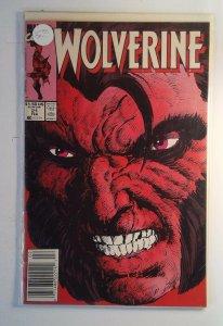 Wolverine #21 (1990) Marvel 7.0 FN/VF Comic Book Newsstand