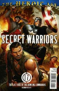 Secret Warriors #17 VF/NM; Marvel | save on shipping - details inside