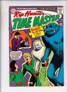 Rip Hunter Time Master #28 (Oct-65) VF High-Grade Rip Hunter, Jeff, Bonnie, C...