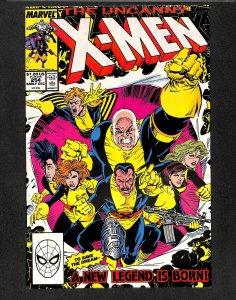 The Uncanny X-Men #254 (1989)