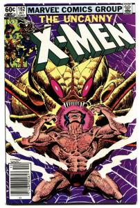 X-MEN #162-marvel comic book high grade nm- wolverine