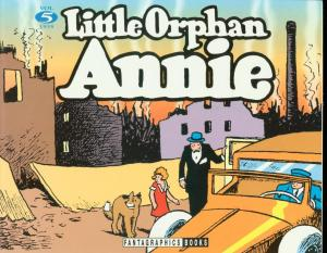 LITTLE ORPHAN ANNIE VOL 5-1935 REPRINTS-HAROLD GRAY-TPB FN