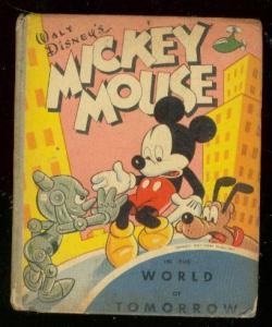 MICKEY MOUSE #1444-WORLD OF TOMORROW-BIG LITTLE BOOK VG