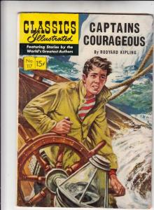 Classics Illustrated #117 (Mar-54) FN- Mid-Grade