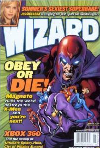 Wizard Magazine #166, NM- (Stock photo)