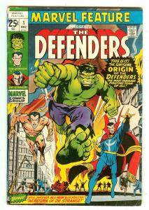 Marvel Feature 1   Origin & 1st Defenders   Neal Adams cover